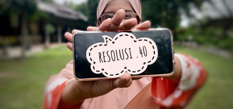 Resolusi 40
